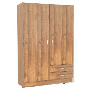 2 door closet